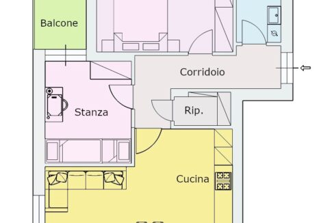 Planimetria Definitiva Via Amalfi 37